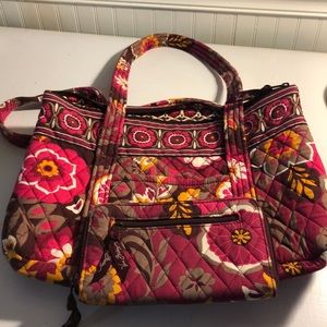 Like new Vera Bradley purse and wallet